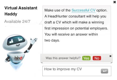 HR chatbot Haddy