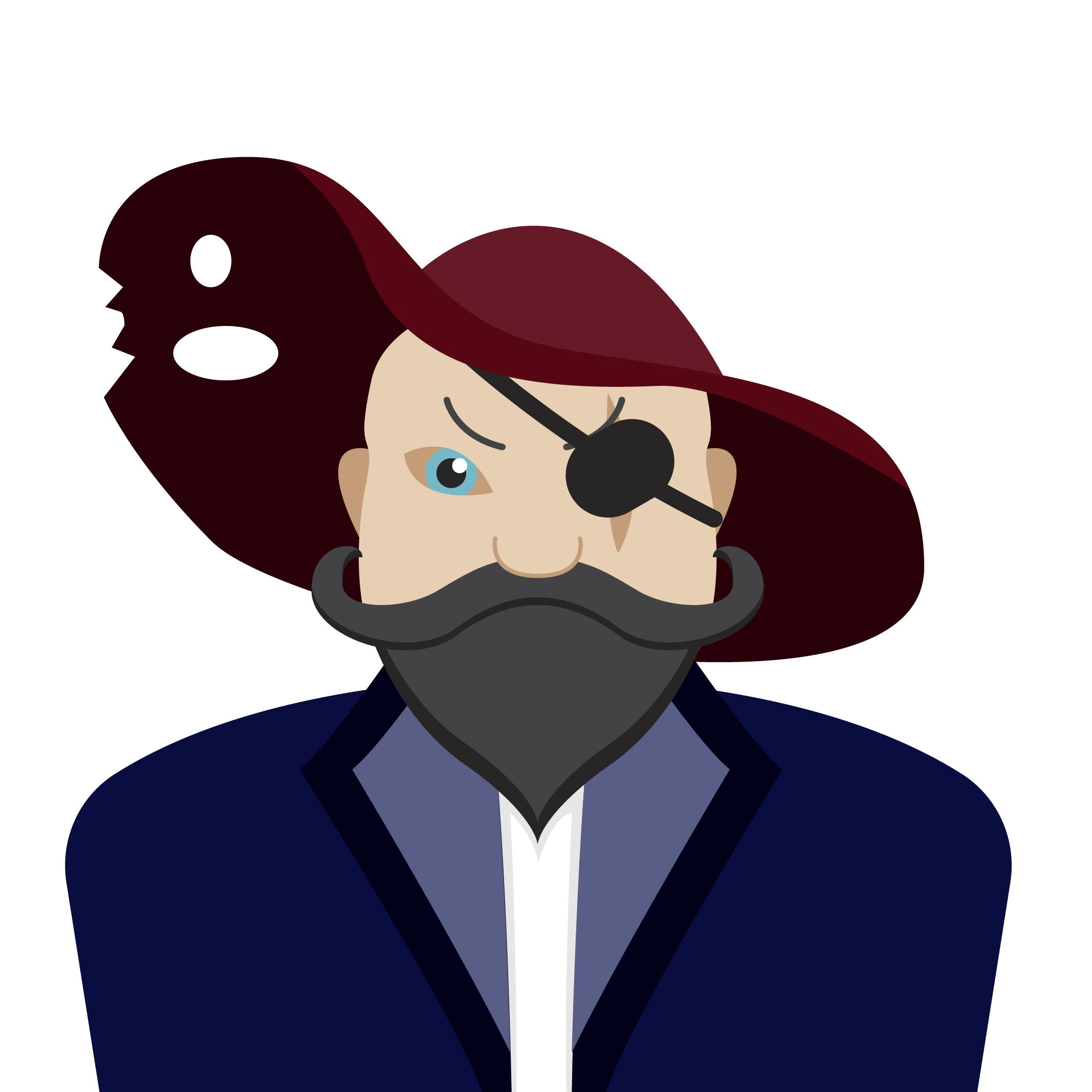 Чат-бот пират-капитан